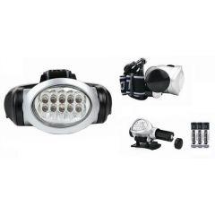 Налобный фонарь bl-603  12 светодиодов