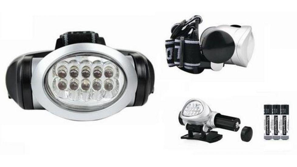 Налобный фонарь bl-603  15 светодиодов