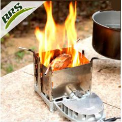 Туристическая дровяная печка с турбонаддувом Vital airwood stove brs-116