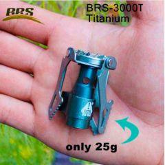 Титановая сверхлёгкая газовая горелка BRS-3000T, 25 грамм