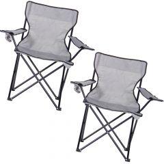 Пара складных стульев для кемпинга и рыбалки Max 100kg