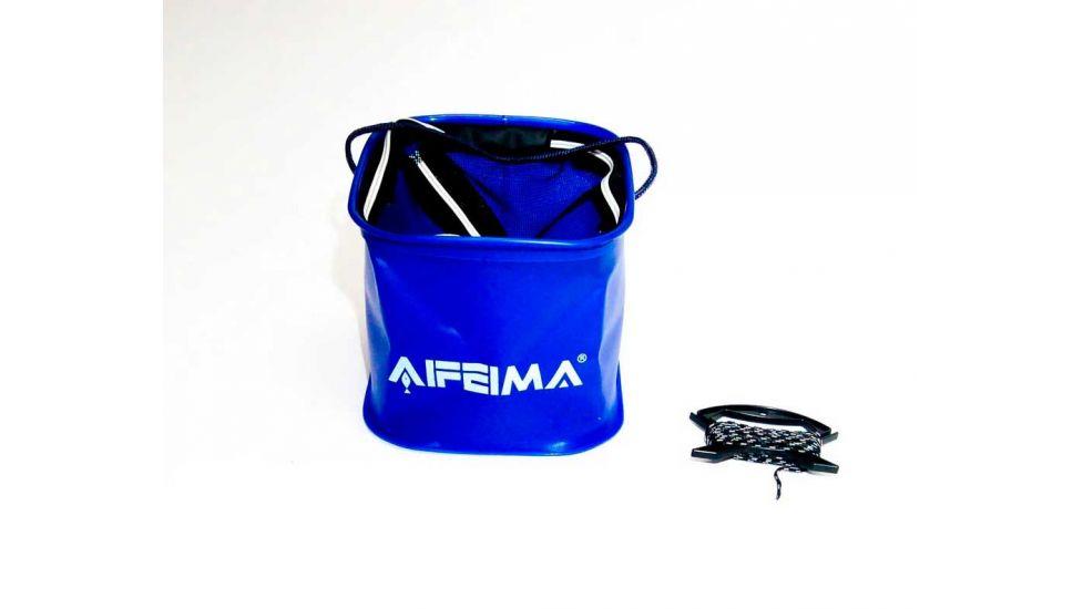 Ведро Feima для живца и прикормки EVA 8л с мотовилами