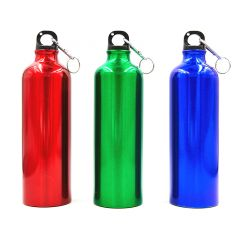 Бутылка для воды алюминиевая с карабином SP-Planeta 750 мл L-750